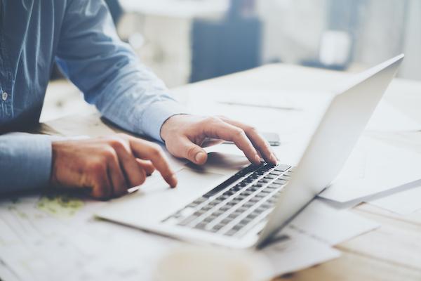 Arbeitsplatz eines Digital Recruiters