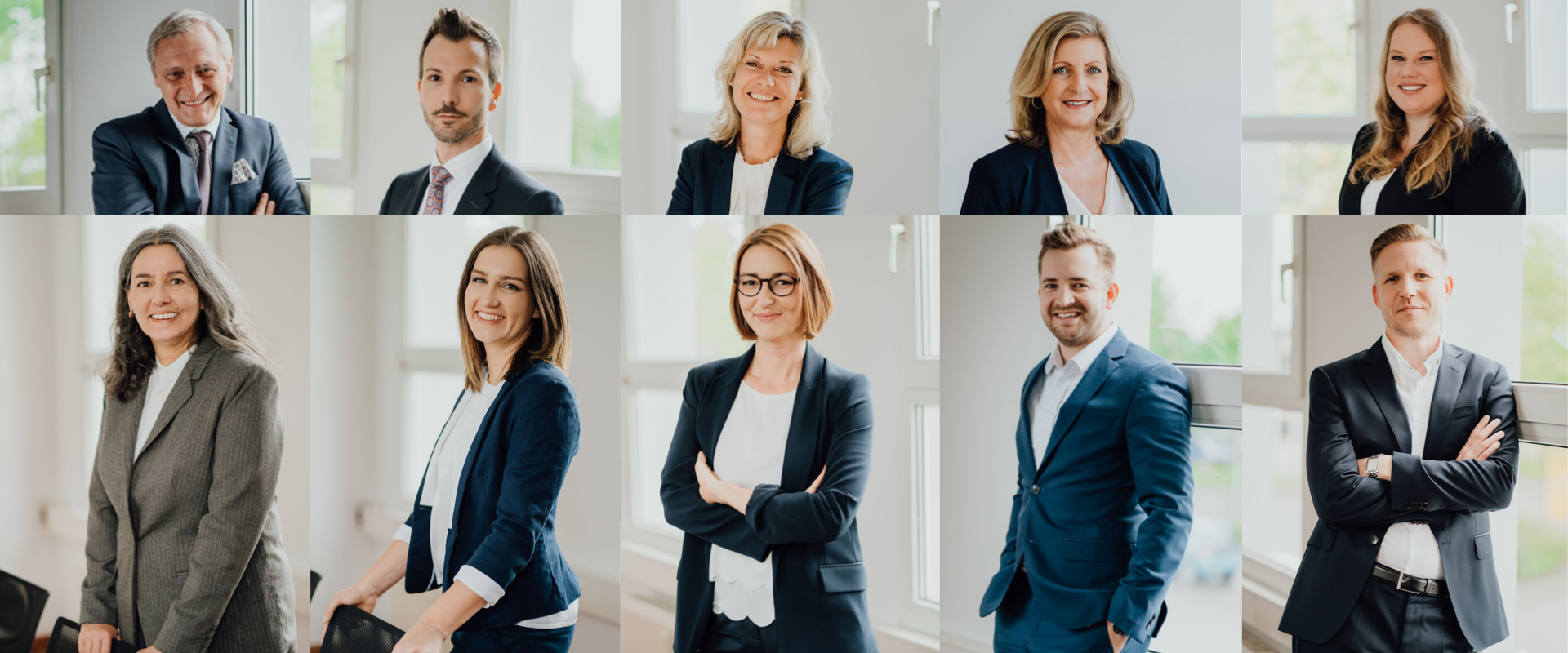 roCONSULTING Team Portraits